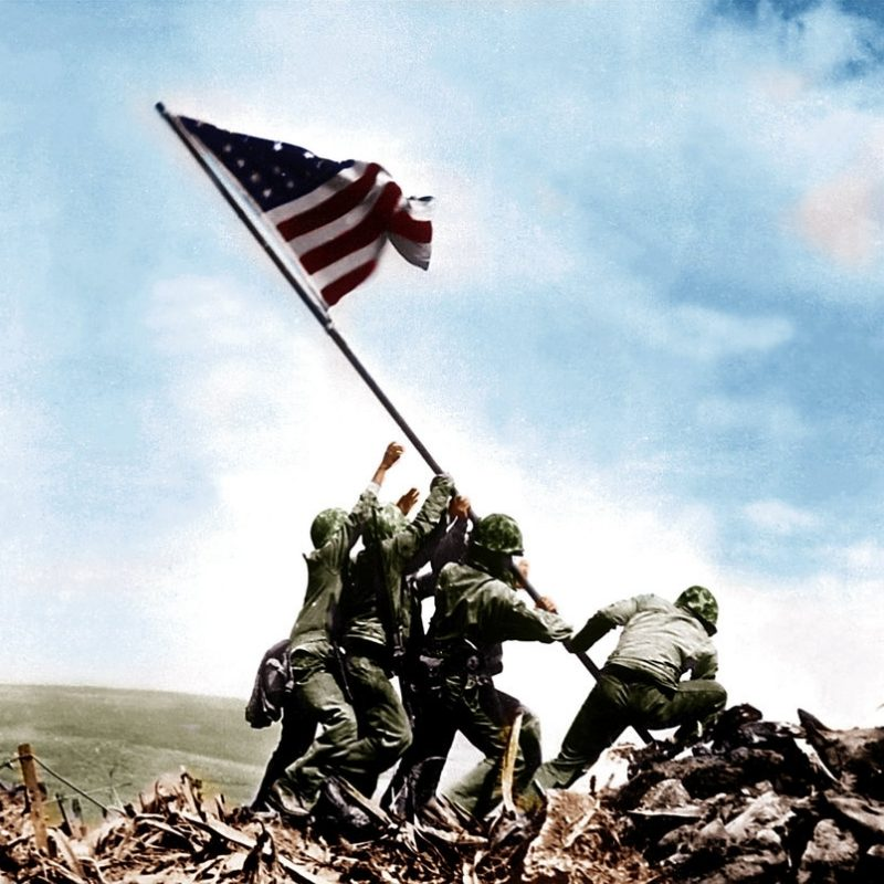 10 New Iwo Jima Flag Raising Color FULL HD 1080p For PC Desktop 2018 free download colorized raising the flag on iwo jima 1945yolodziej on deviantart 800x800