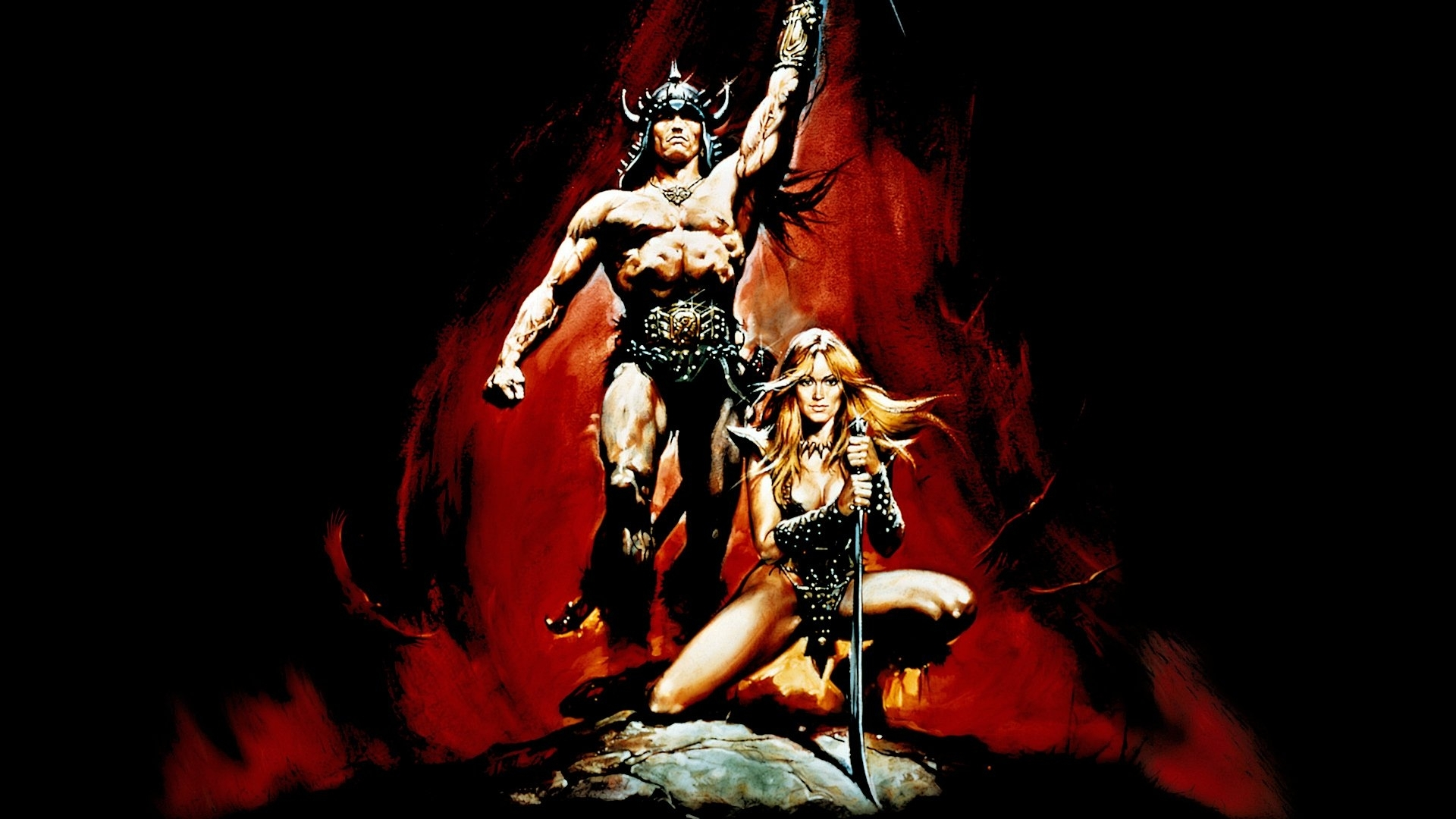 conan the barbarian (1982) full hd wallpaper and background image