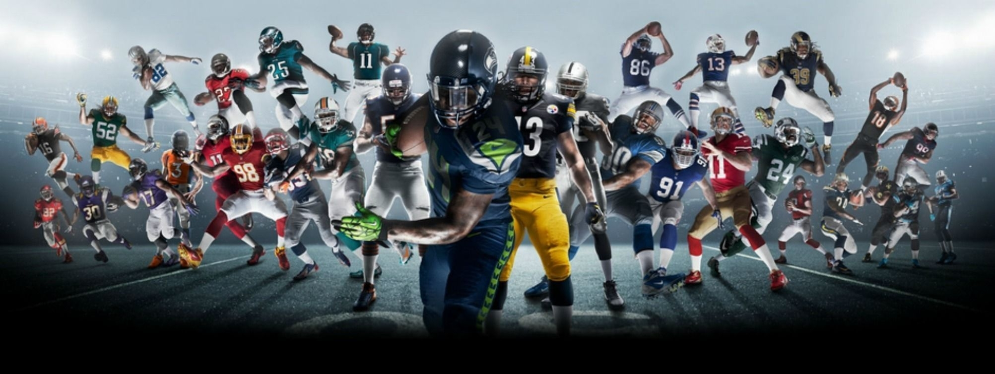 cool american football backgrounds group (66+)