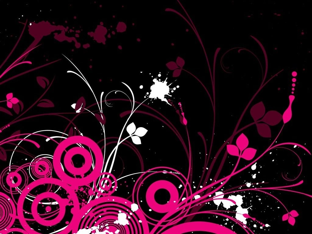 cool background designs | free pink/black design wallpaper