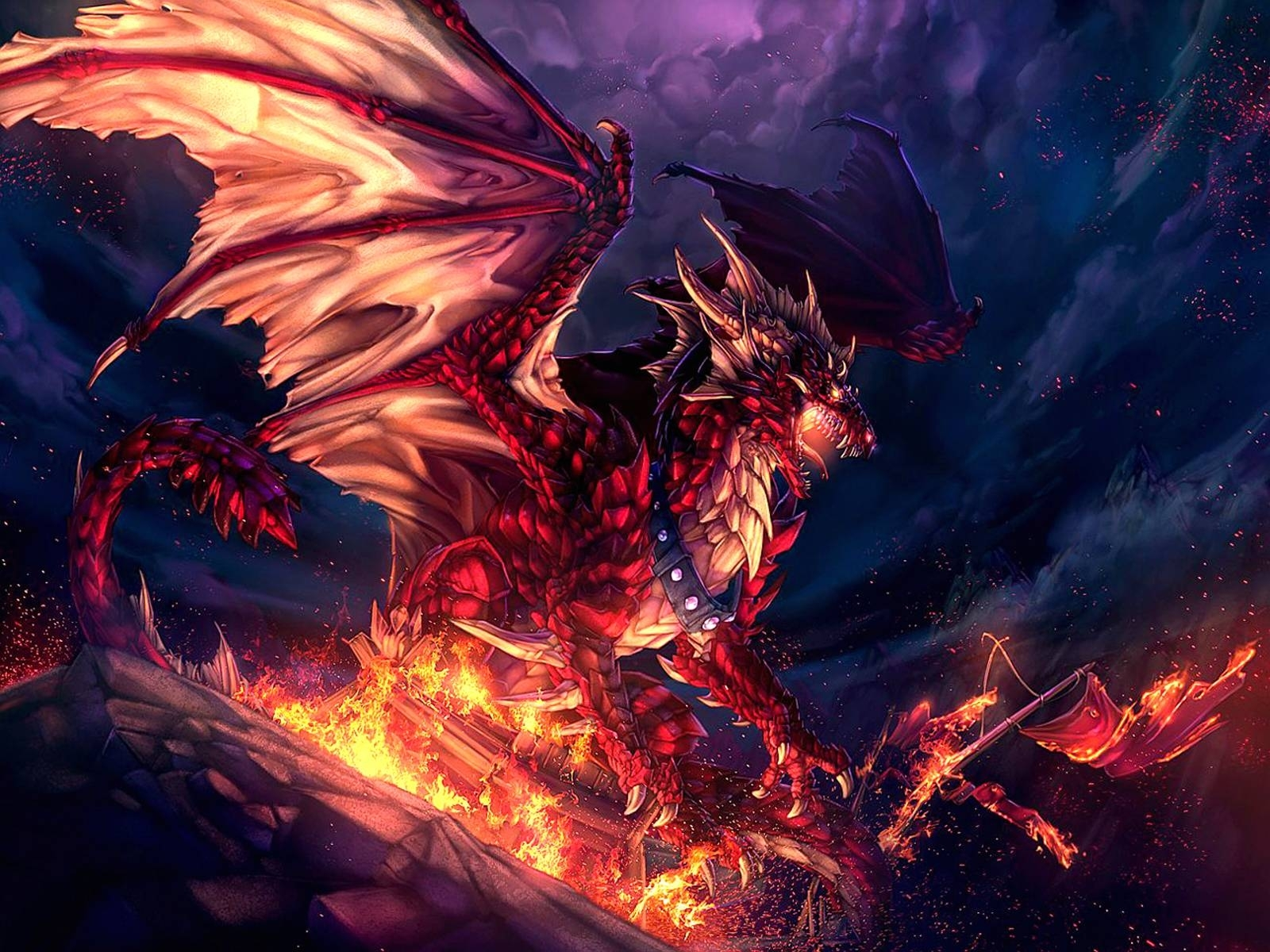 10 Best Cool Fire Dragon Wallpaper Full Hd 1080p For Pc Background