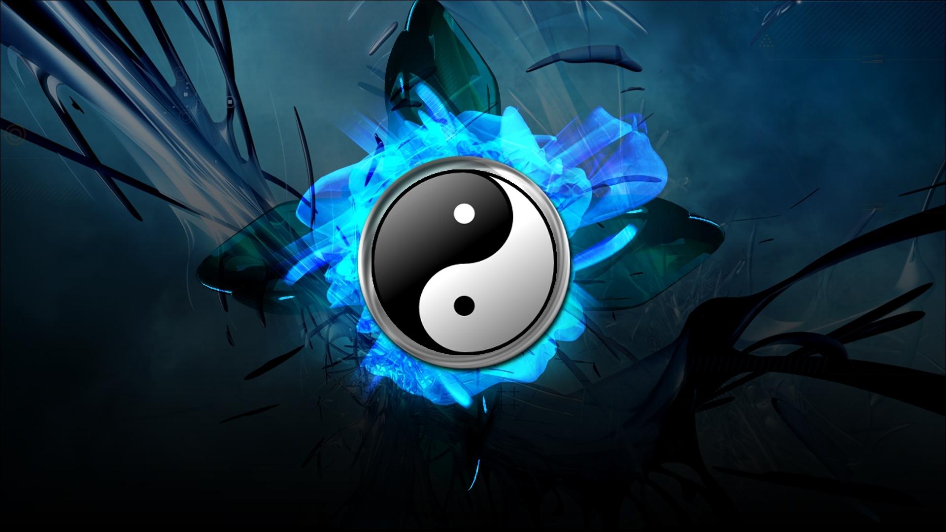 cool yin yang wallpaper full hd. - media file | pixelstalk