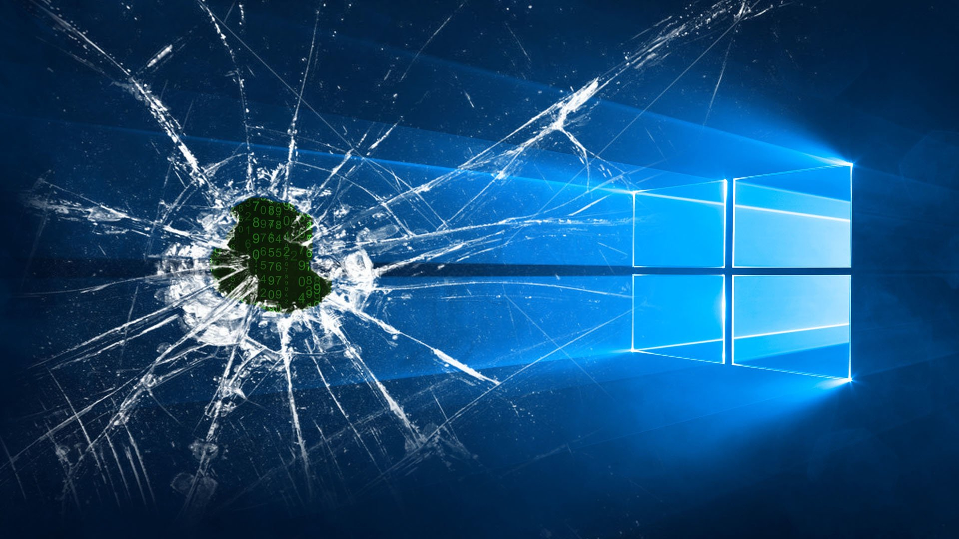 crack screen windows 10 hd wallpaper | hintergrund | 1920x1080 | id