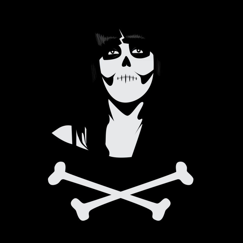 10 Most Popular Skulls And Crossbones Wallpaper FULL HD 1080p For PC Background 2018 free download crossbones wallpapers wallpaperup 1 800x800