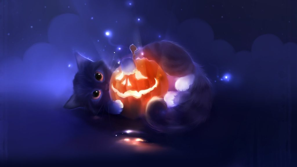 10 New Cute Cat Halloween Backgrounds FULL HD 1920×1080 For PC Desktop 2018 free download cute cats wallpapers for desktop widescreen wallpaper 1920x1200 1024x576