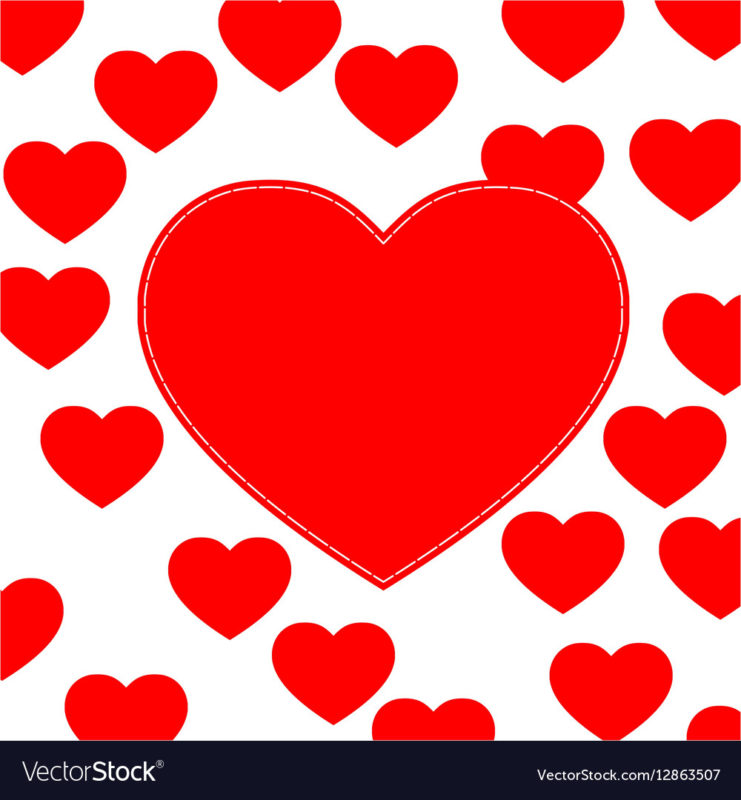 10 Best Cute Love Heart Pictures FULL HD 1920×1080 For PC Background 2020 free download cute love hearts background royalty free vector image 741x800
