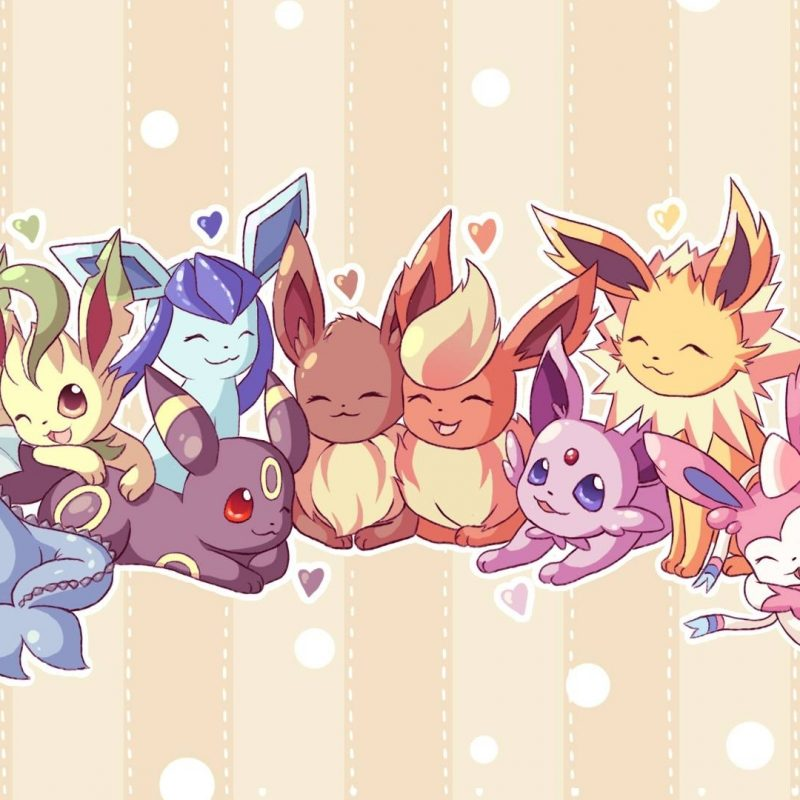 10 Most Popular Cute Eevee Evolutions Wallpaper FULL HD 1920×1080 For PC Desktop 2018 free download cutest pokemon images cute pokemon wallpaper hd wallpaper and 800x800