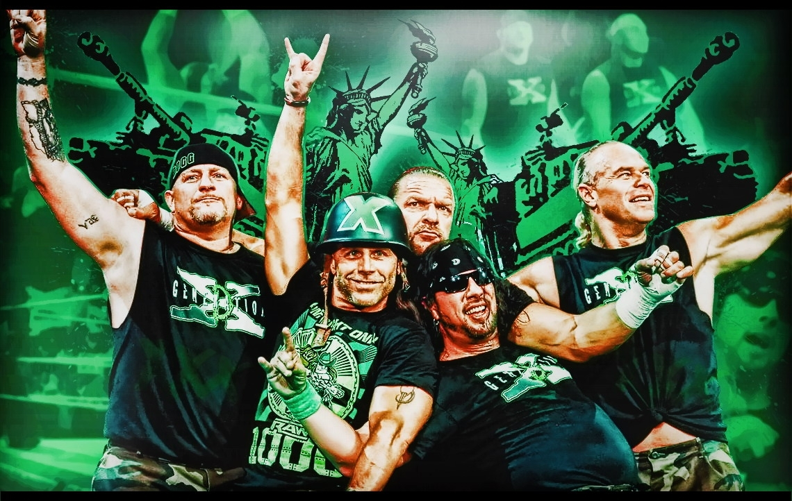 d-generation x wallpaper - wwe superstars, wwe wallpapers, wwe ppv's