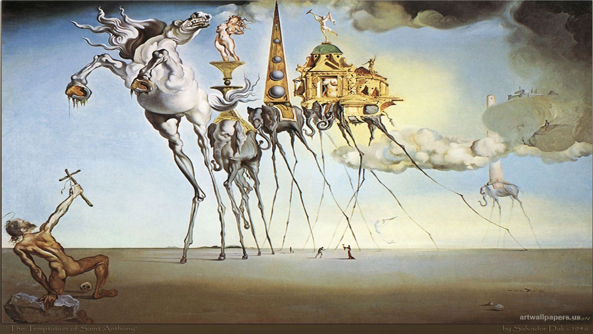 dali paintings | 1600 x 1200 . 1680 x 1050 . full hd wallpaper