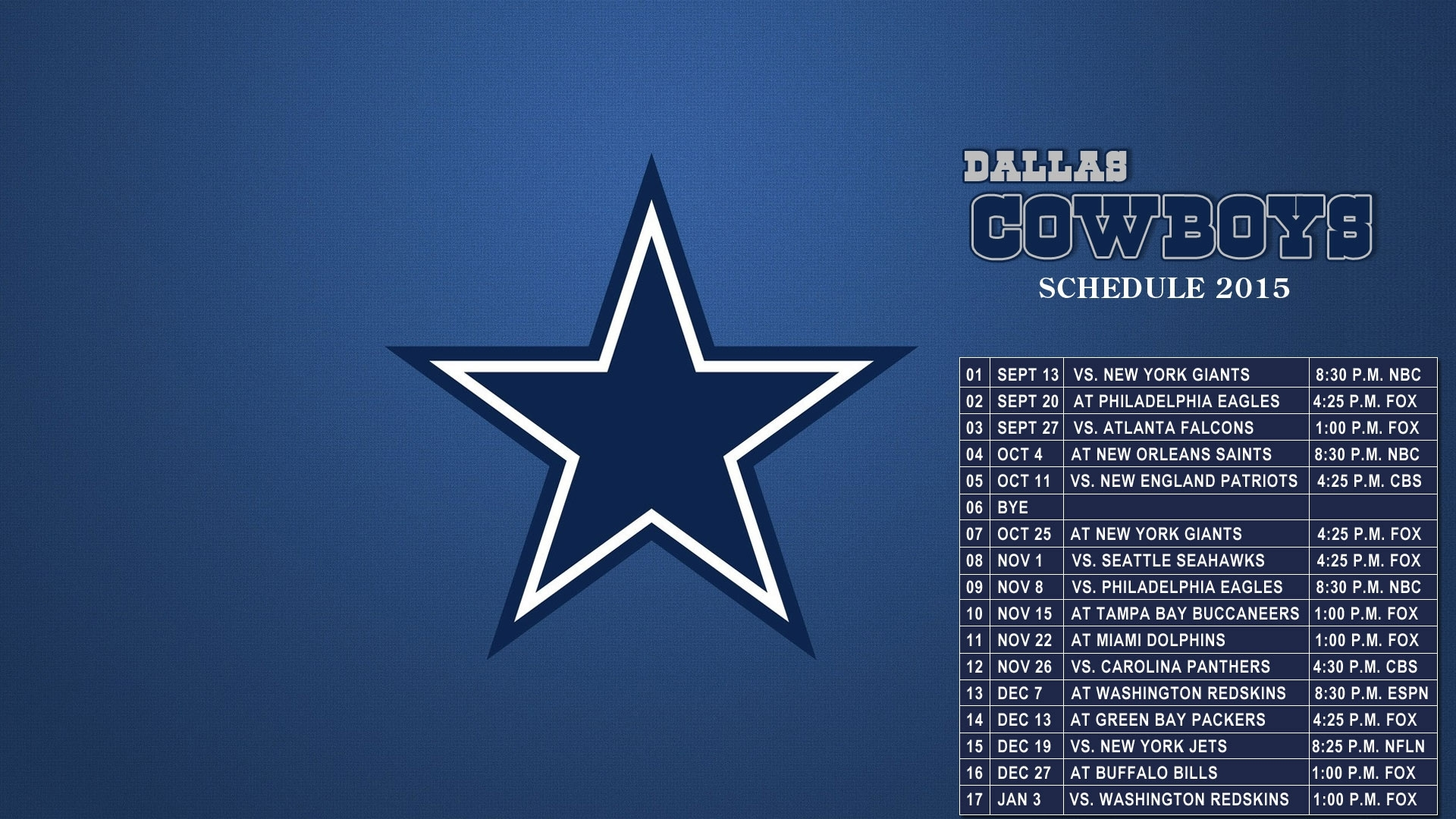 dallas cowboys wallpaper schedule gallery (64+ images)