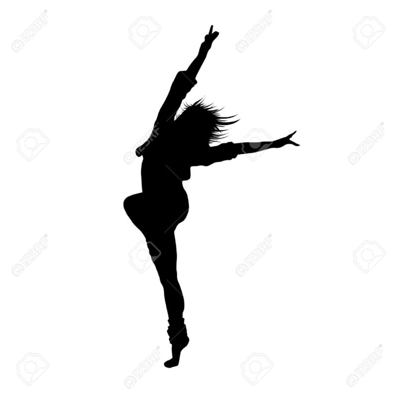 10 Most Popular Dancing Girl Images FULL HD 1920×1080 For PC Background 2018 free download dancing girl black silhouette royalty free cliparts vectors and 800x800