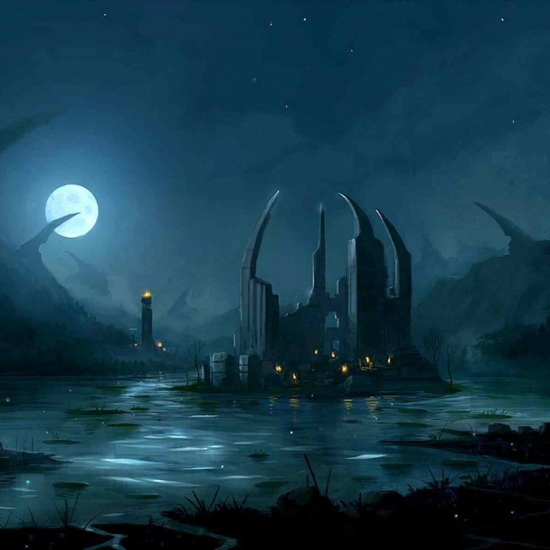 10 top dark anime scenery wallpaper full hd 1920 1080 for - Best site to download anime wallpapers ...