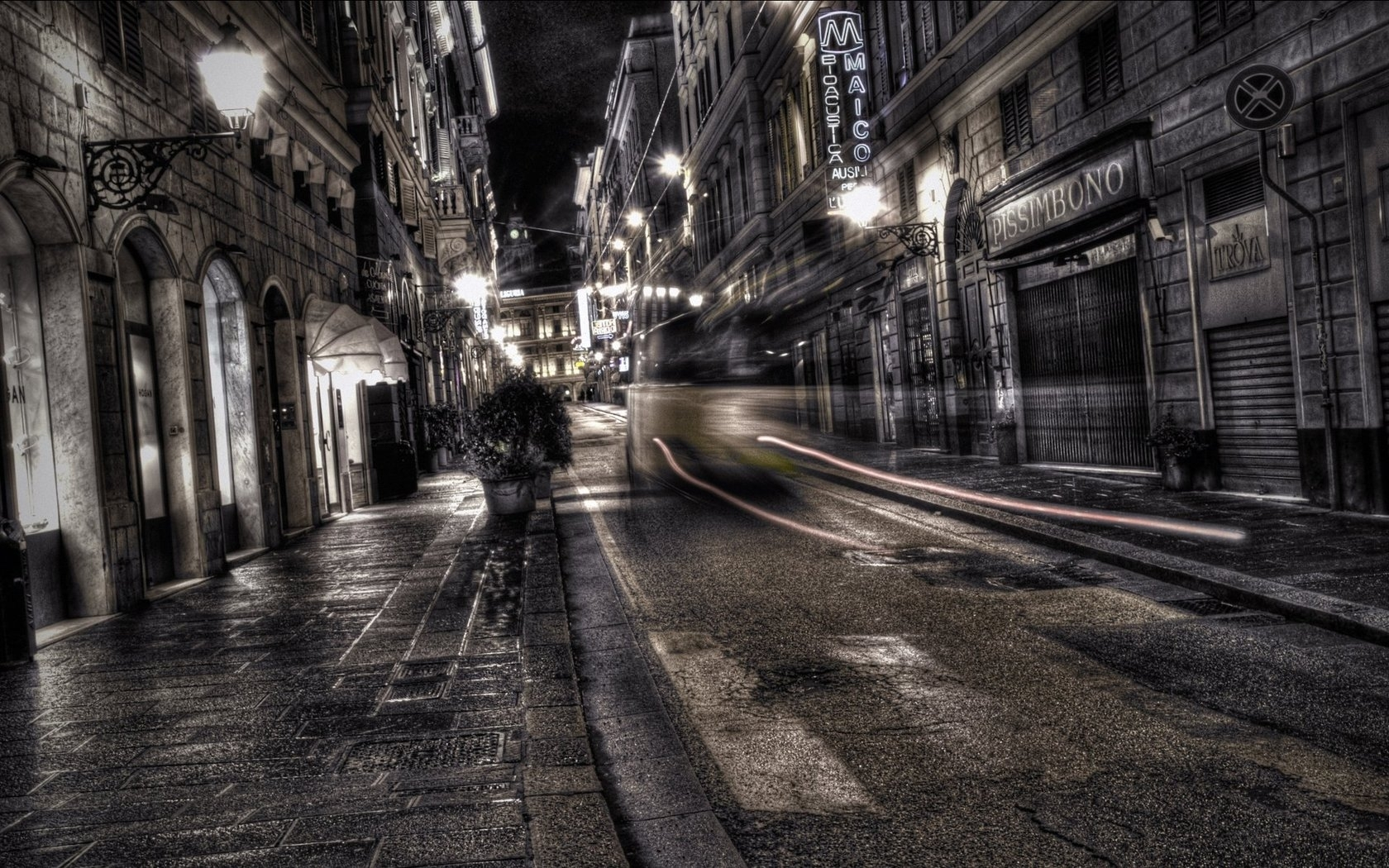 dark city street background 9831 | background check all