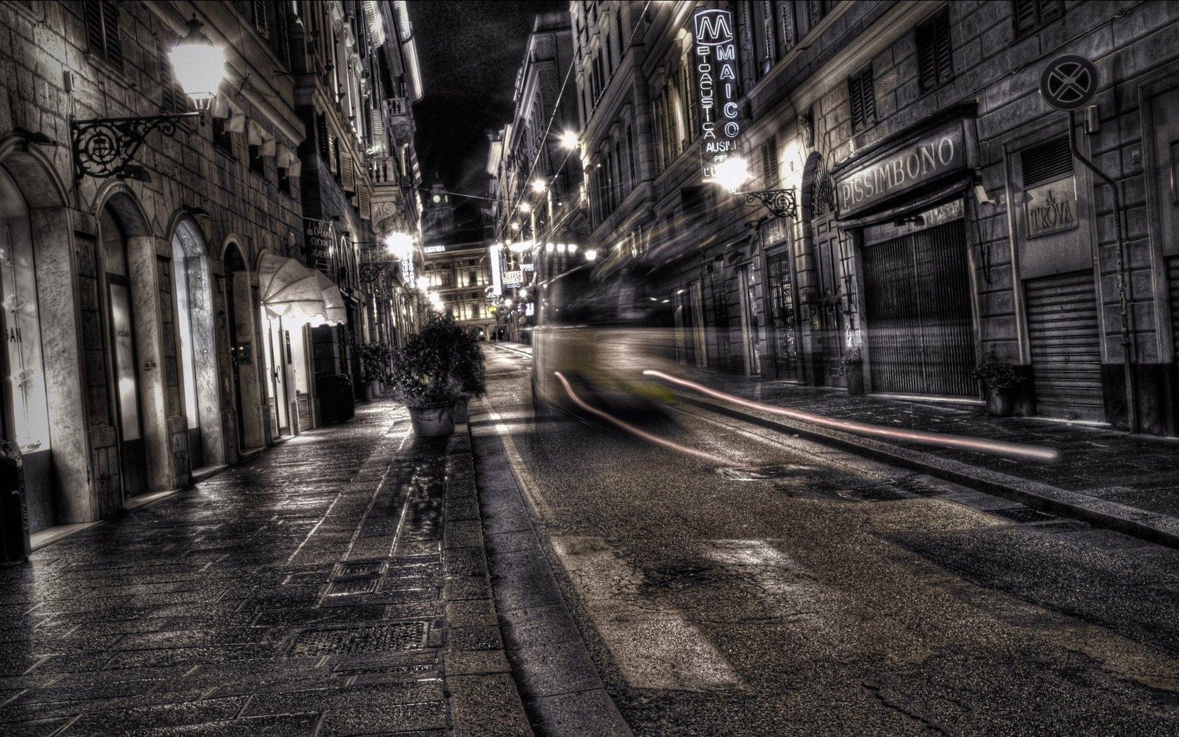 dark city street background 9831 | background check all