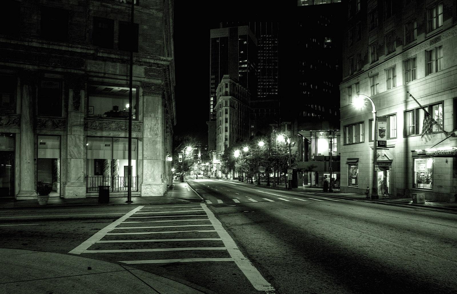 dark city street background 9849 | background check all