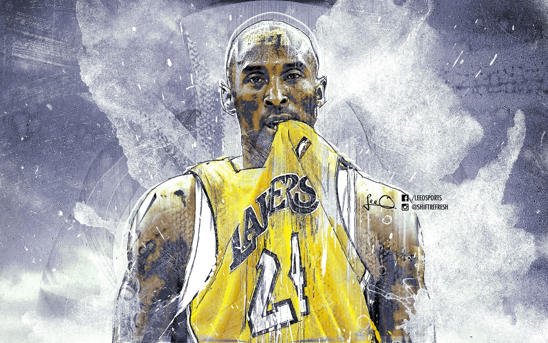 dark kobe bryant wallpaper man simple white decoration ideas water