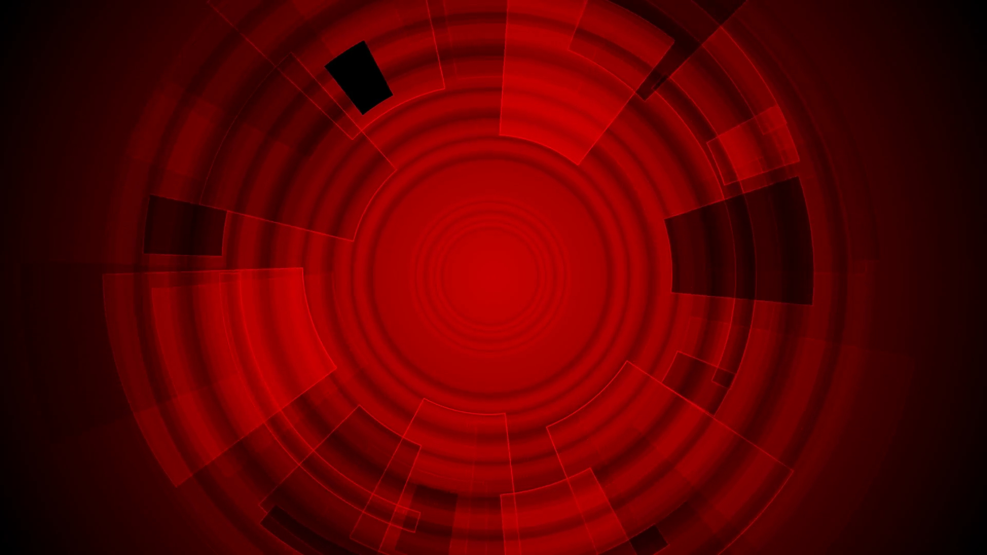 dark red tech gear abstract background. video animation hd 1920x1080