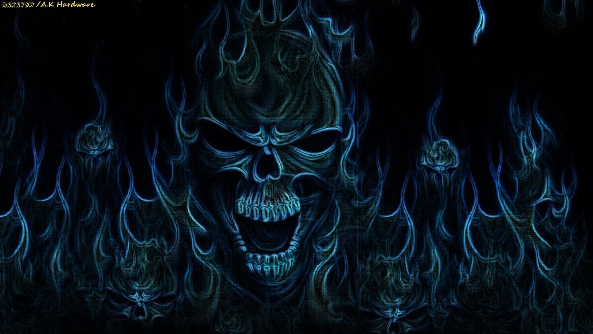 dark skull wallpaper | skuls | pinterest | wallpaper, skull