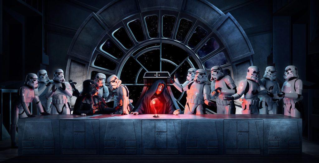 10 Best Star Wars Last Supper Wallpaper FULL HD 1080p For PC Desktop 2020 free download darth vader emperor palpatine stormtrooper star wars the 1024x523