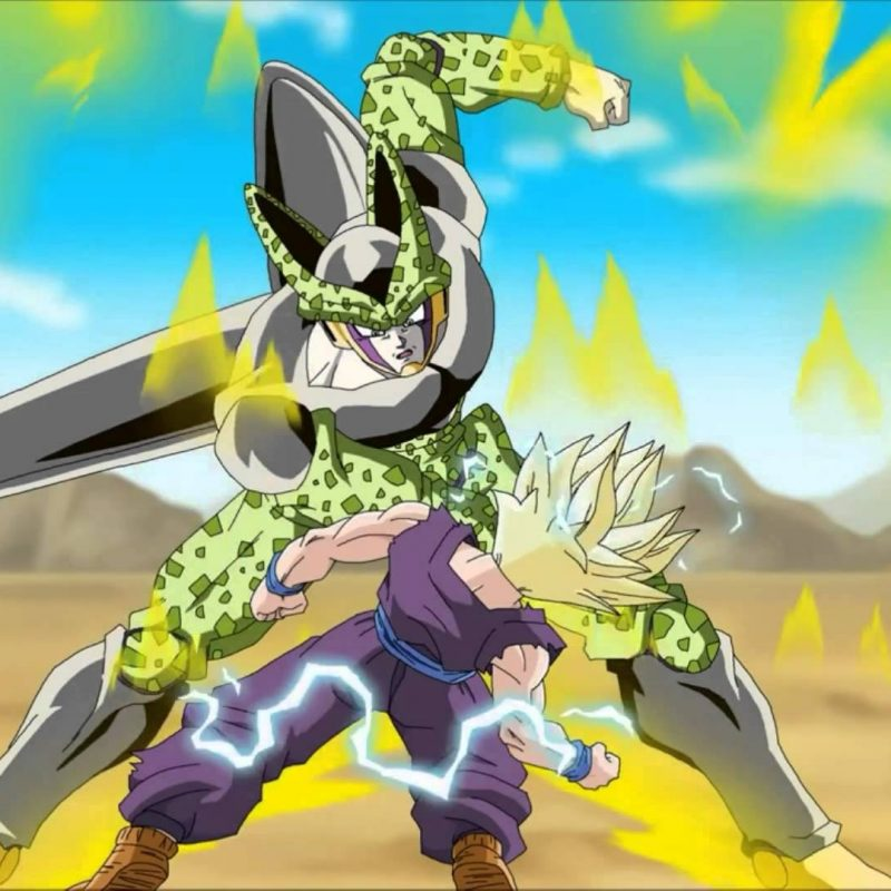 10 Latest Gohan Vs Cell Wallpaper FULL HD 1920×1080 For PC Desktop 2018 free download dbz fan animation ssj2 teen gohan vs cell gets koed original 800x800