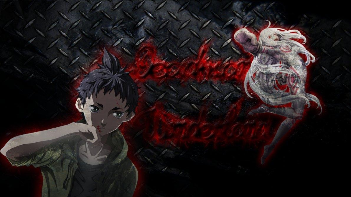 deadman wonderland wallpaperbixes on deviantart