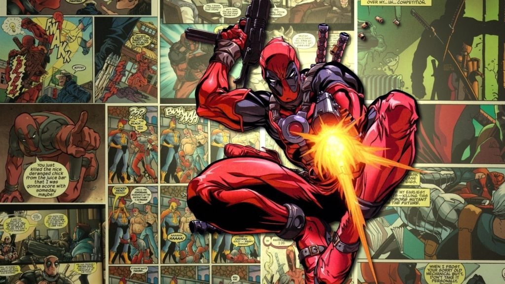 10 Latest Hd Comic Book Wallpaper FULL HD 1920×1080 For PC Background 2018 free download deadpool pop up comic full hd wallpaper and background image 1024x576
