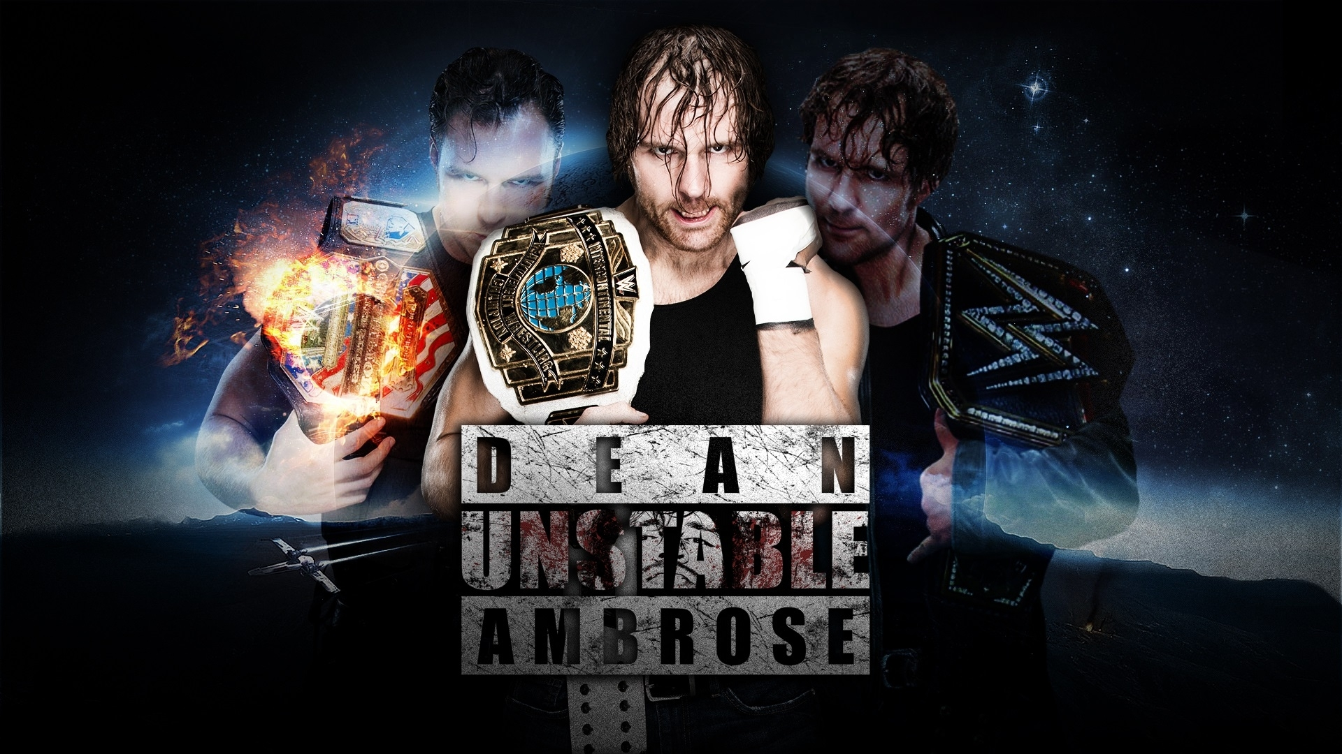 dean ambrose wallpapers and background images - stmed