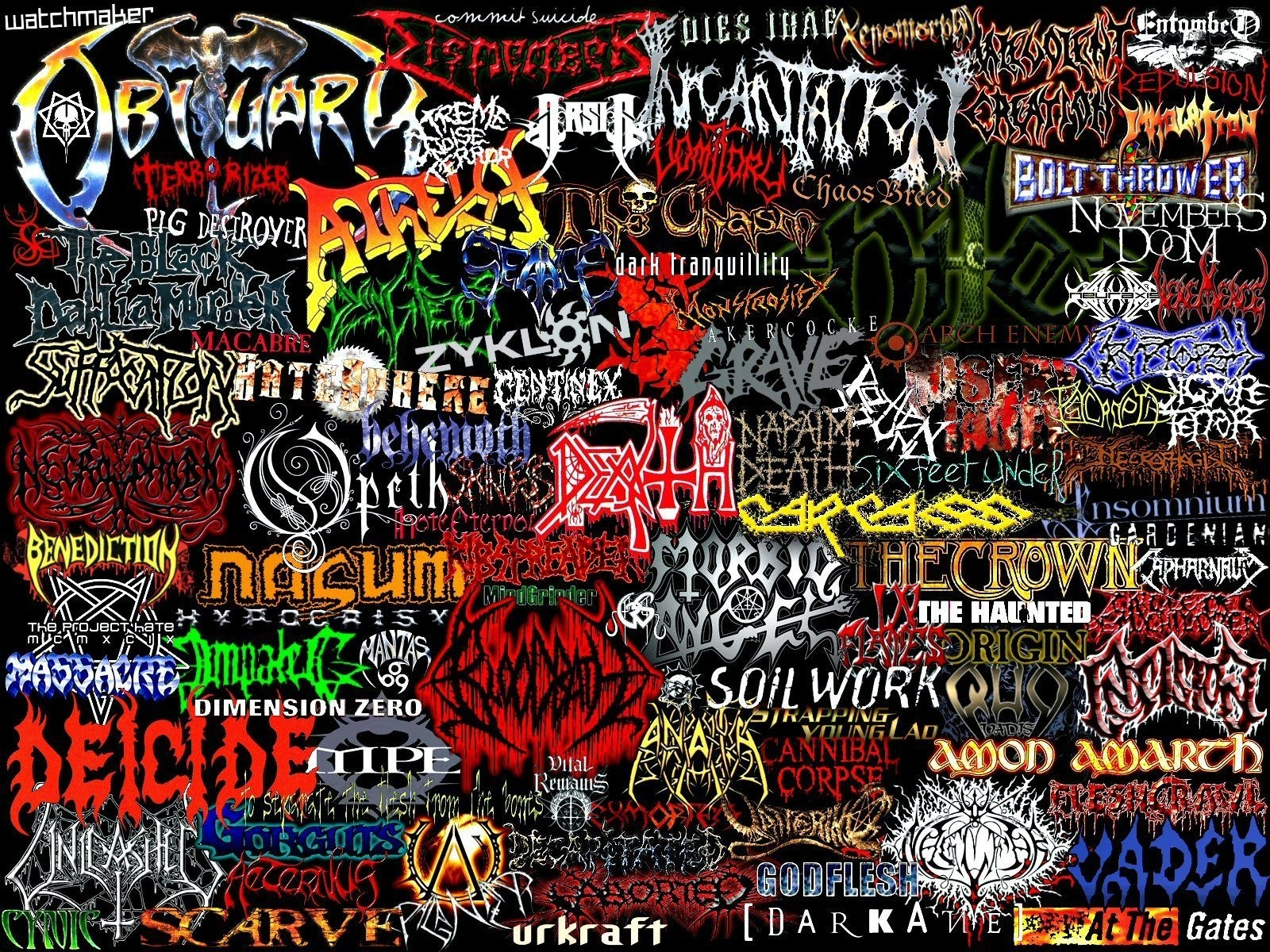death metal wallpaper collection (67+)