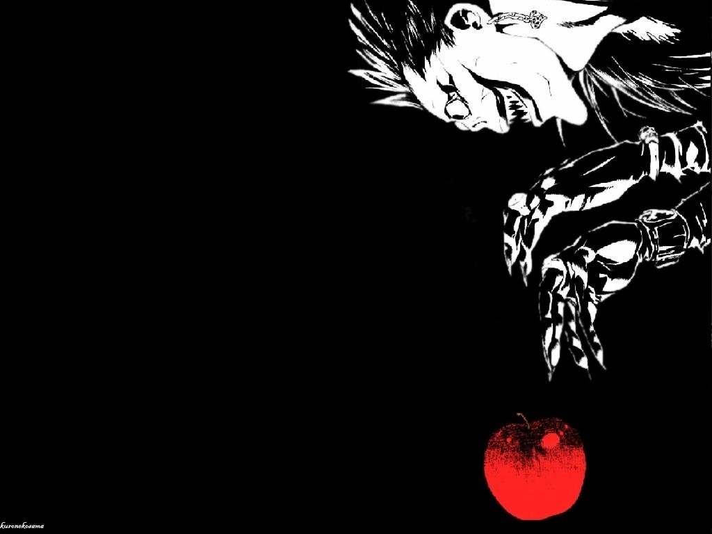 death note wallpaper and background image | 1024x768 | id:4919