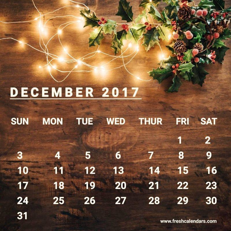 10 Top December 2017 Calendar Wallpaper FULL HD 1080p For PC Background 2018 free download december 2017 calendar wallpapers wallpaper cave 800x800