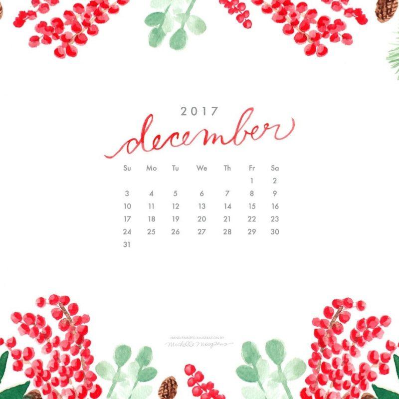 10 Top December 2017 Calendar Wallpaper FULL HD 1080p For PC Background 2018 free download december watercolor digital wallpapers elegant custom watercolor 800x800