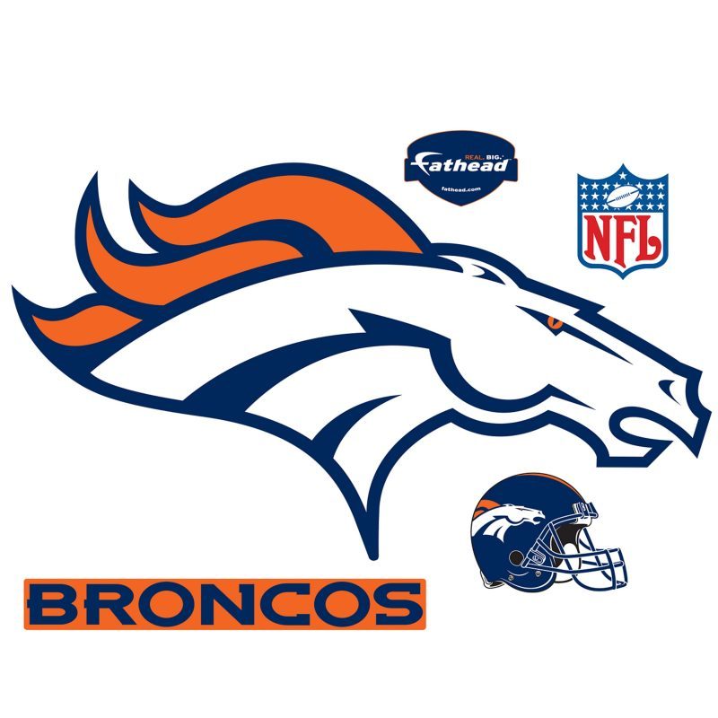 10 Best Denver Broncos Logo Pics FULL HD 1920×1080 For PC Desktop 2018 free download denver broncos logo wall decal shop fathead for denver broncos decor 800x800