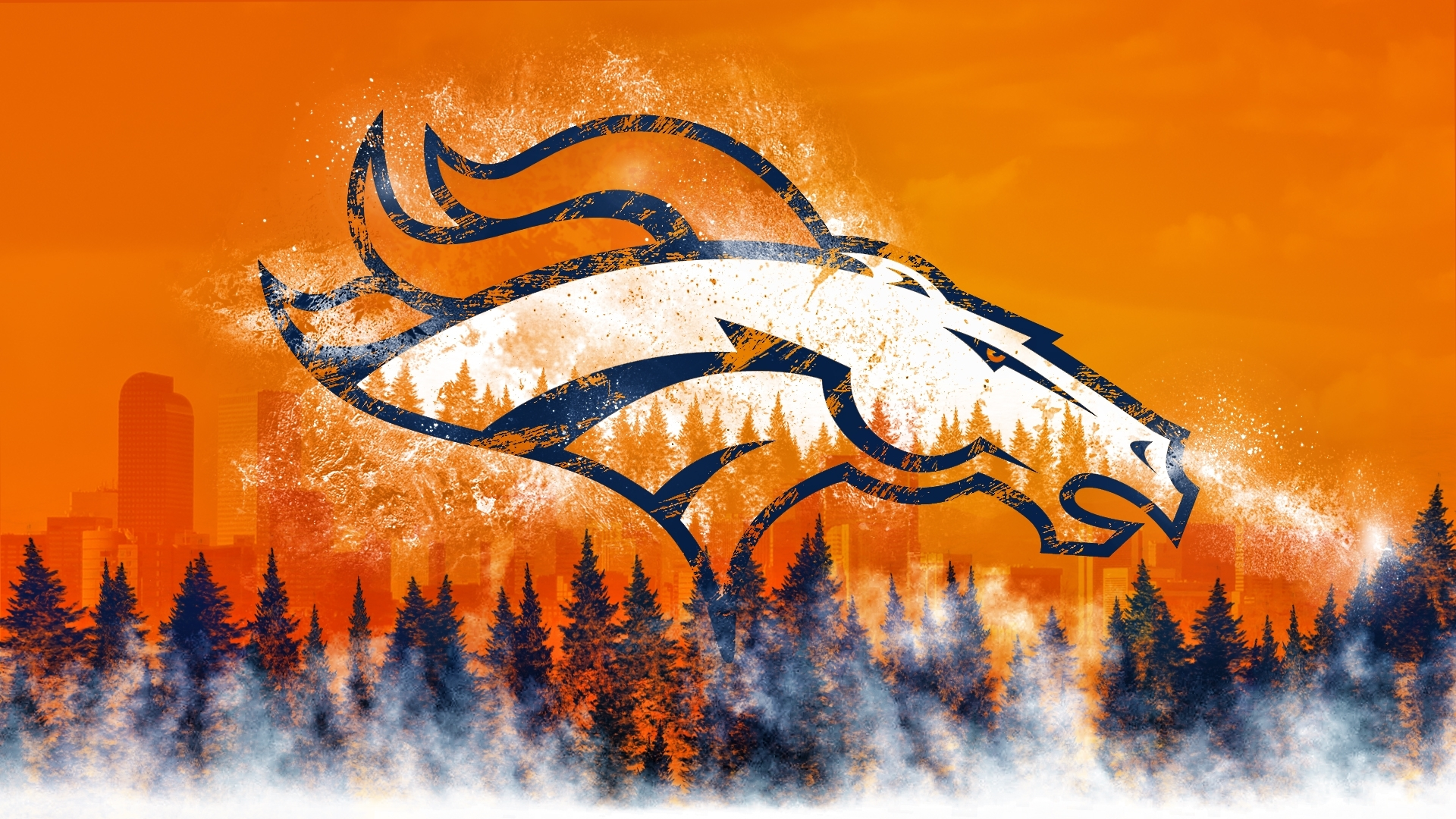 10 Best Denver Broncos Desktop Background FULL HD 1920×1080 For PC Background