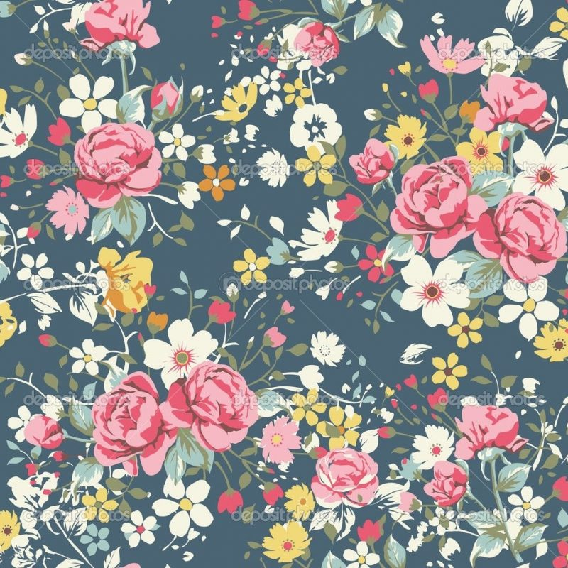 10 Top Vintage Floral Pattern Wallpaper FULL HD 1080p For PC Background 2018 free download depositphotos 23226584 wallpaper vintage rose pattern on navy 800x800