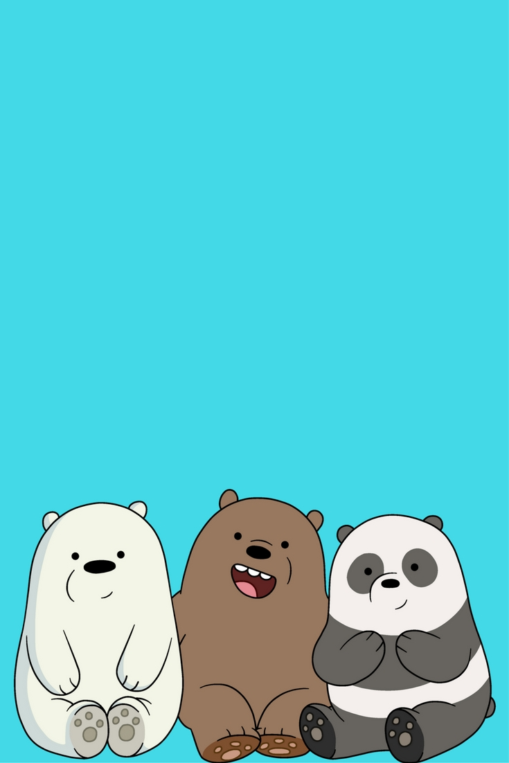 desenhos | iphone wallpaper | pinterest | bare bears, bears and