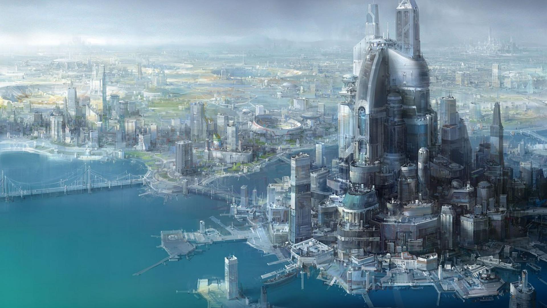 desktop images: future city wallpapers, future city wallpapers