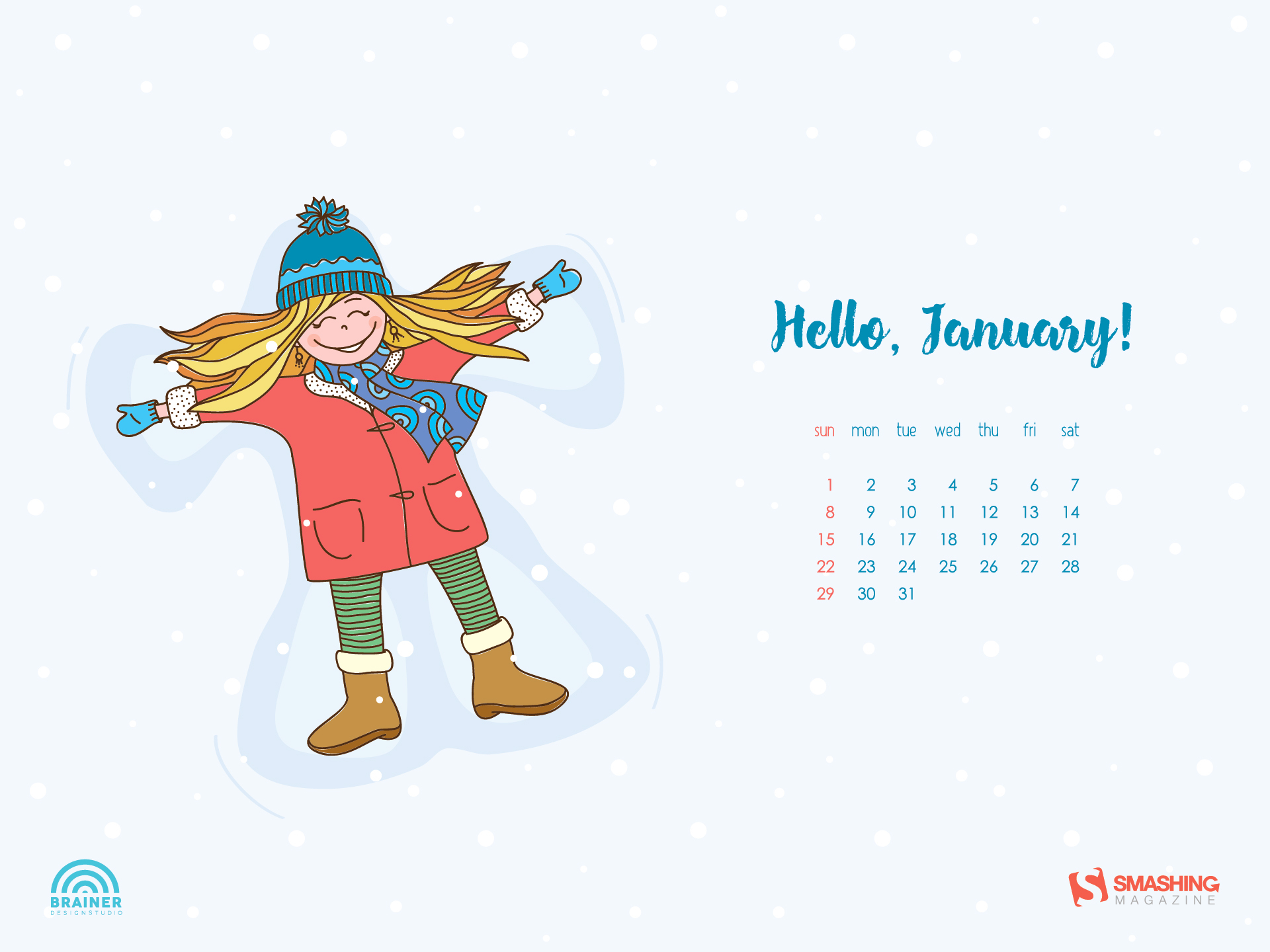 desktop wallpaper calendars: january 2017 — smashing magazine