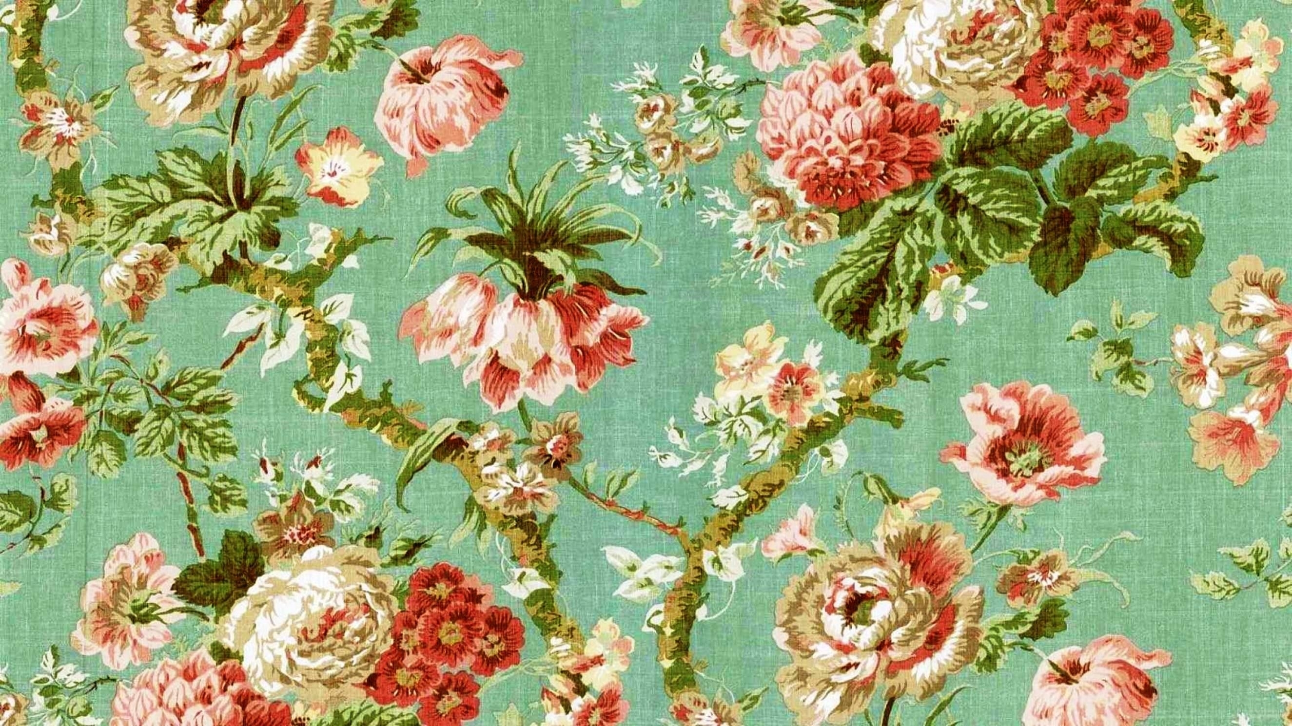 desktop-wallpaper-vintage-floral (2650×1490) | wallpapers for