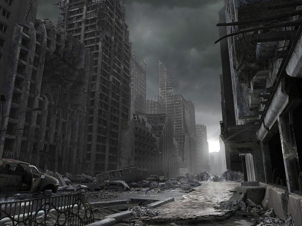 10 Top Destroyed City Street Background FULL HD 1920×1080 For PC Desktop 2018 free download destroyed city senior project pinterest post apocalyptic 1024x768