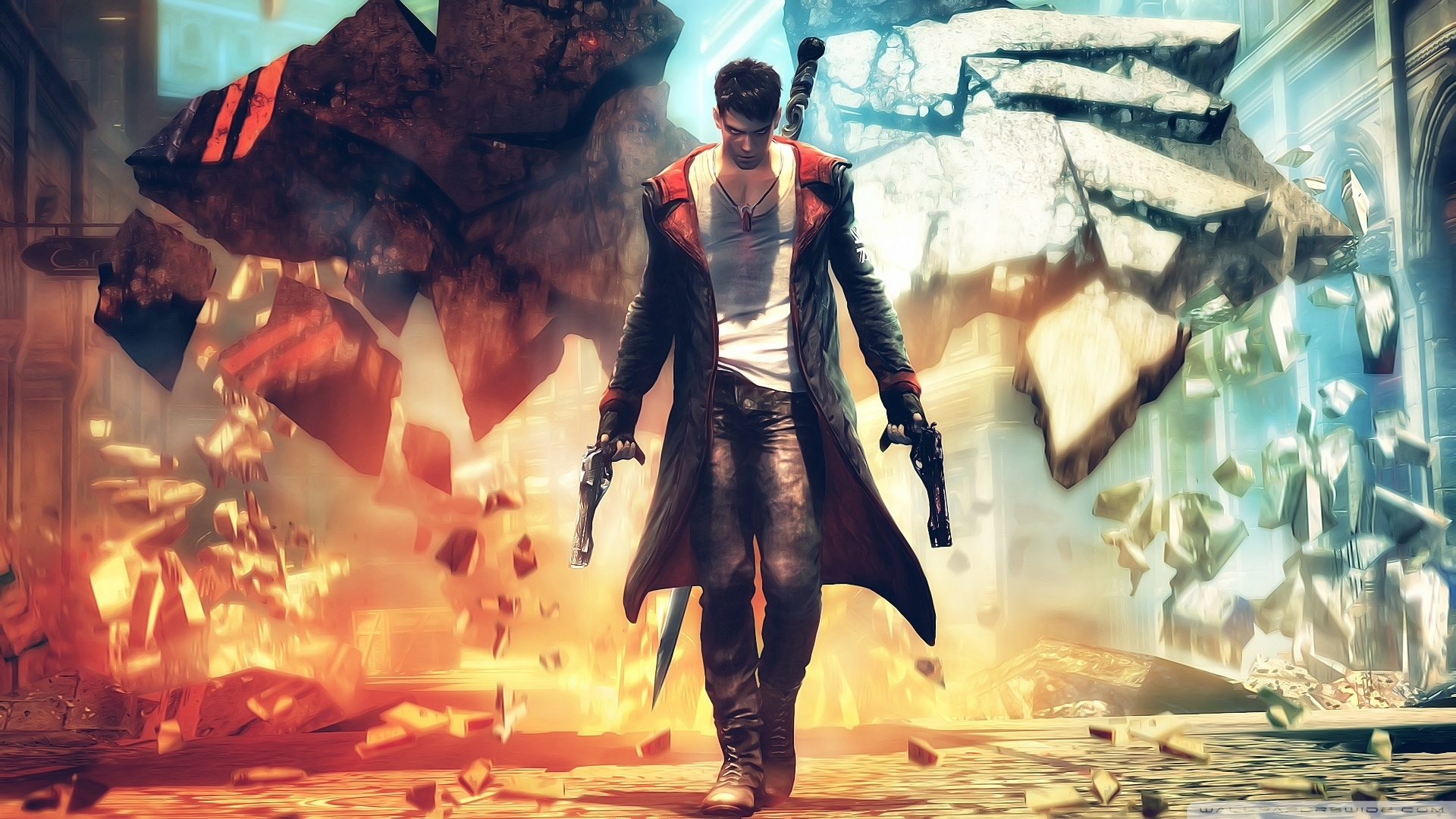 devil may cry ❤ 4k hd desktop wallpaper for 4k ultra hd tv • wide