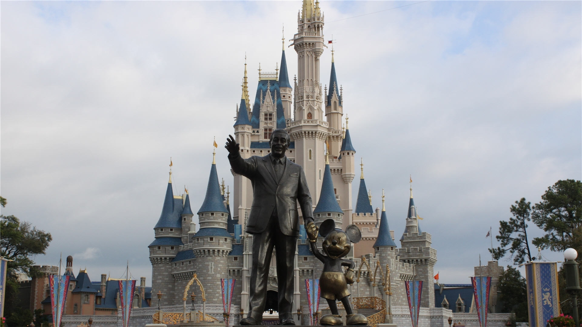 disney castle wallpapers hd | pixelstalk