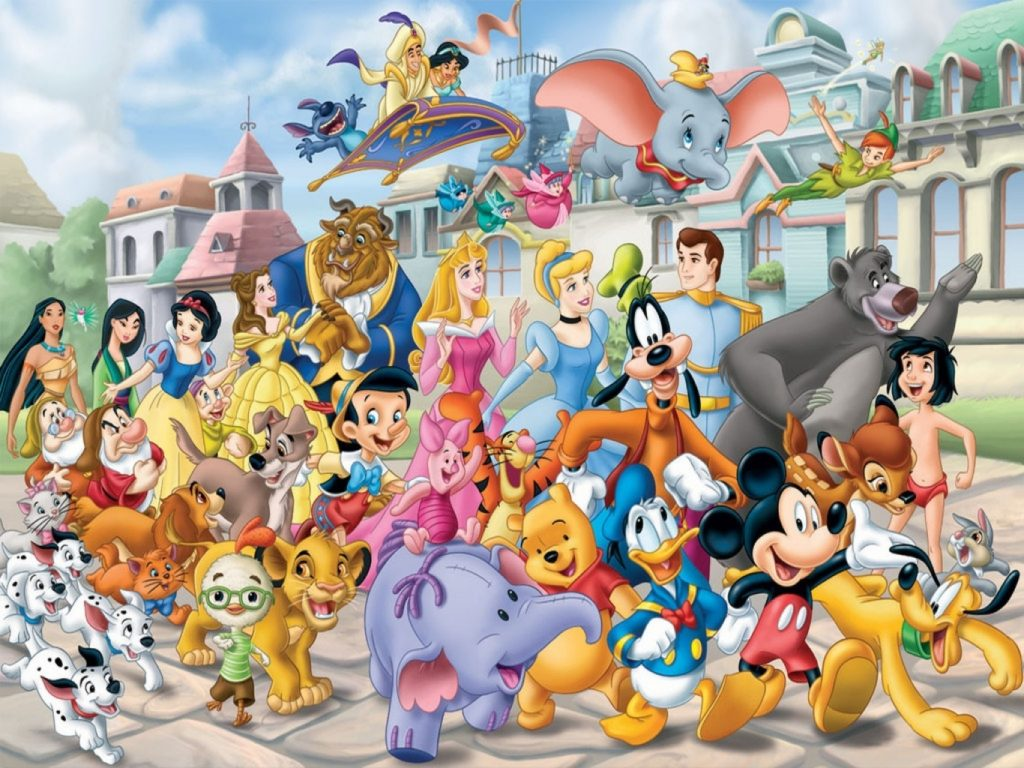 10 Top Wallpaper Of Disney Characters FULL HD 1920×1080 For PC Desktop 2018 free download disney characters hd desktop wallpaper 21643 baltana 1024x768
