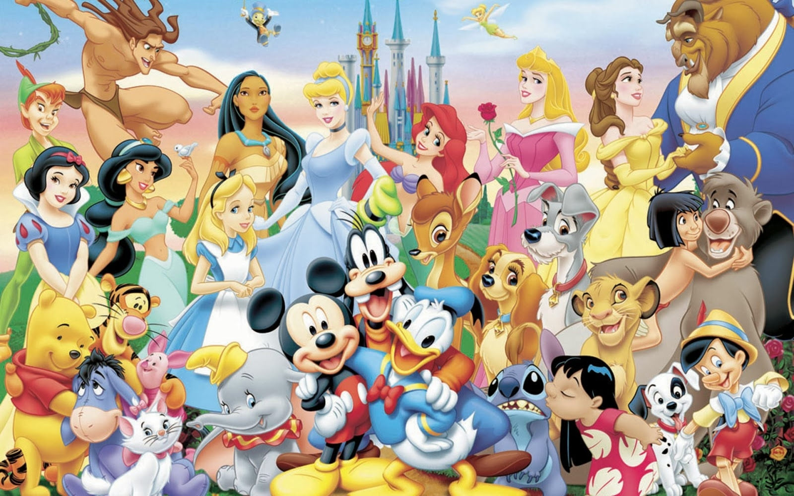 disney characters wallpaper hd 21649 - baltana