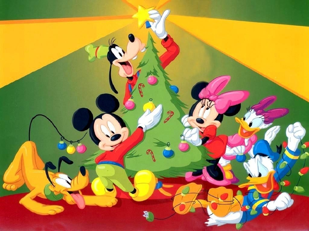 10 Best Mickey Mouse Christmas Wallpapers FULL HD 1080p For PC Background 2018 free download disney christmas images mickey mouse christmas hd wallpaper and 1 1024x768