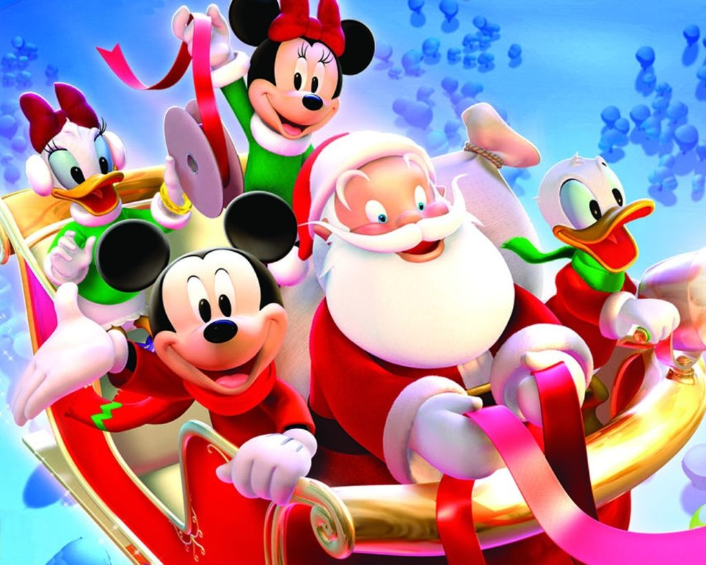 10 Best Mickey Mouse Christmas Wallpapers FULL HD 1080p For PC Background 2018 free download disney christmas images mickey mouse christmas hd wallpaper and 2 1024x819