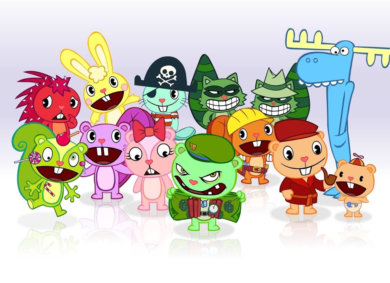 disney hd wallpapers: happy tree friends hd wallpapers