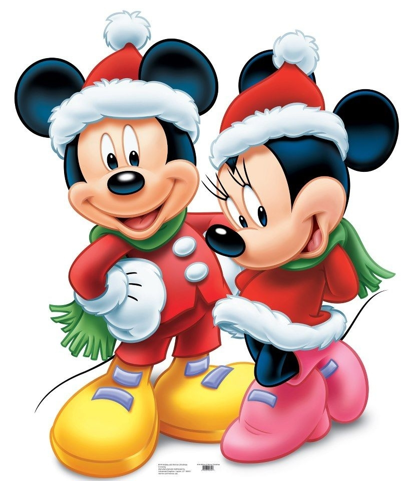 disney mickey mouse standup | mickey mouse, mice and disney christmas