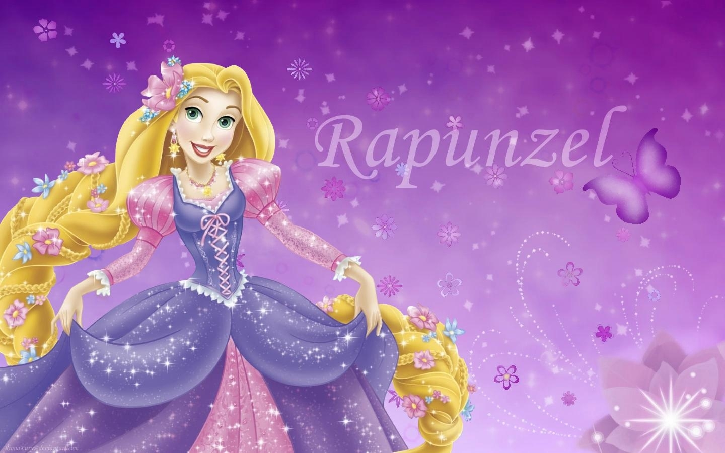disney princess rapunzel background wallpaper 07837 - baltana