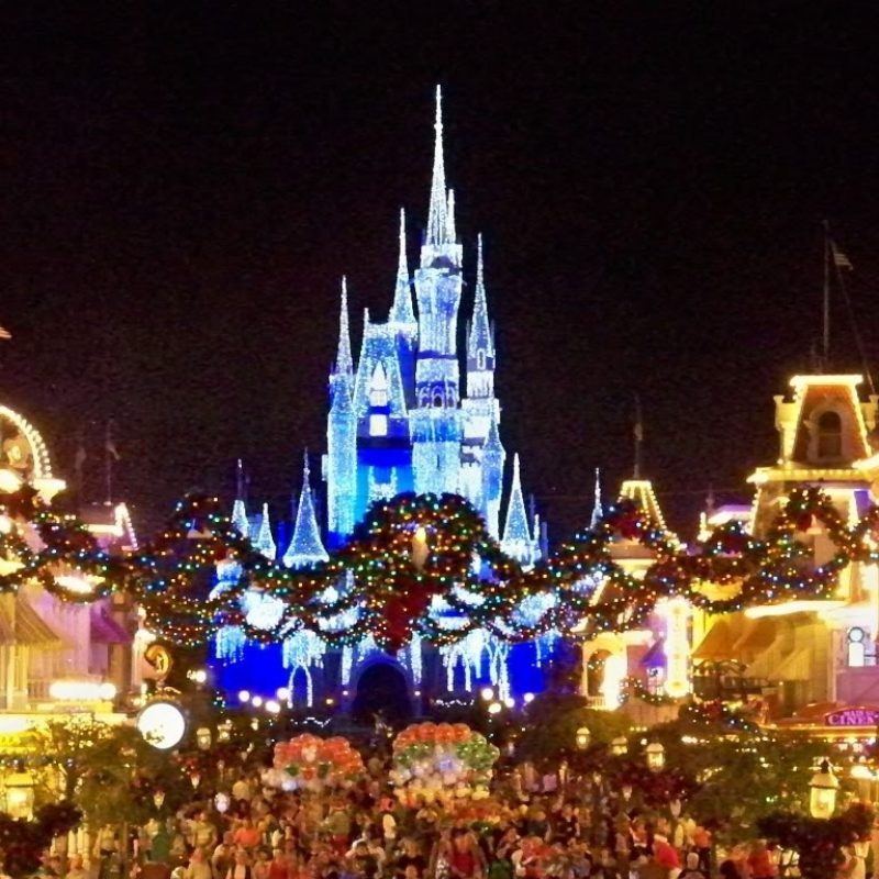 10 Latest Disney World Christmas Wallpaper Full Hd 1920 1080 For Pc
