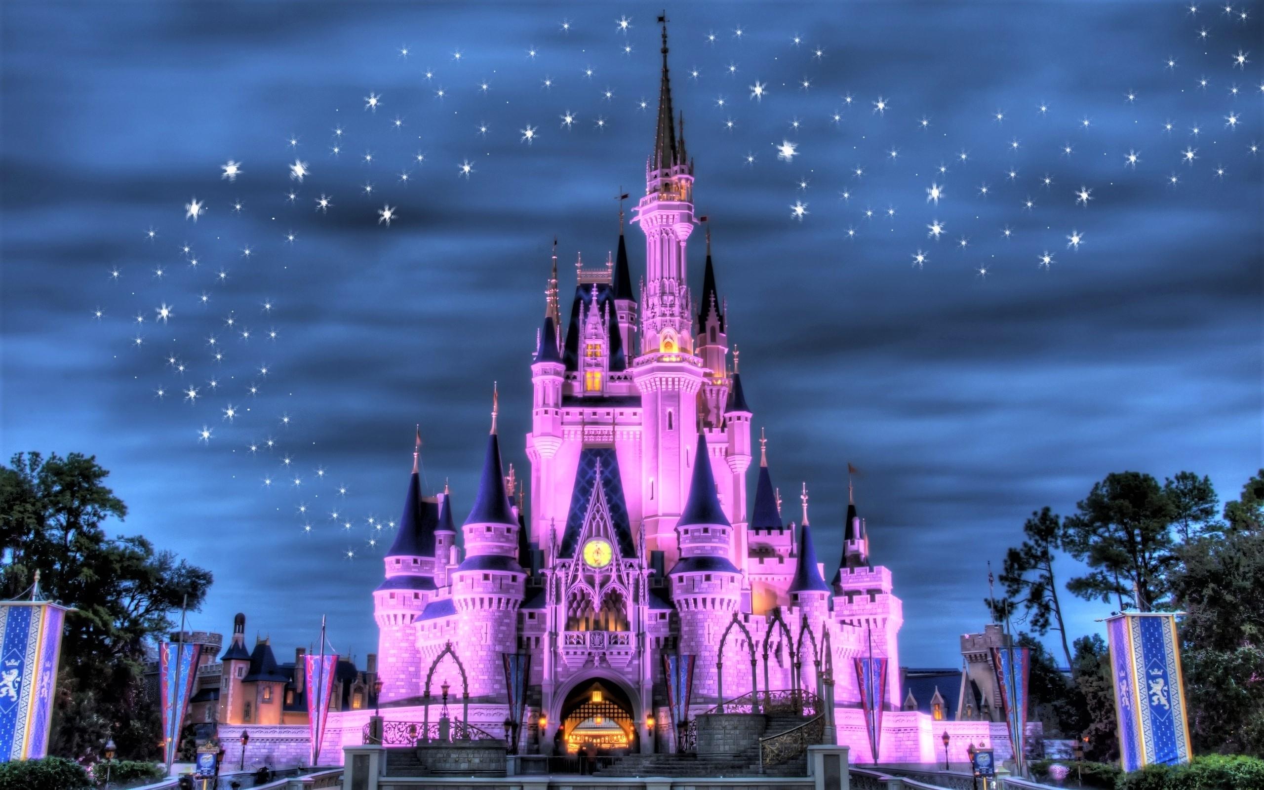 disneyland castle full hd fond d'écran and arrière-plan | 2560x1600